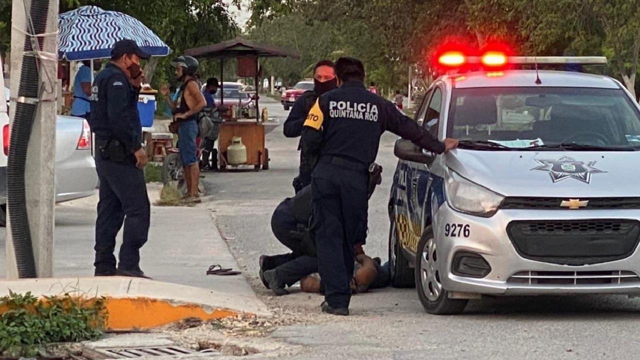 Tulum: policías rompieron la columna vertebral de Victoria
