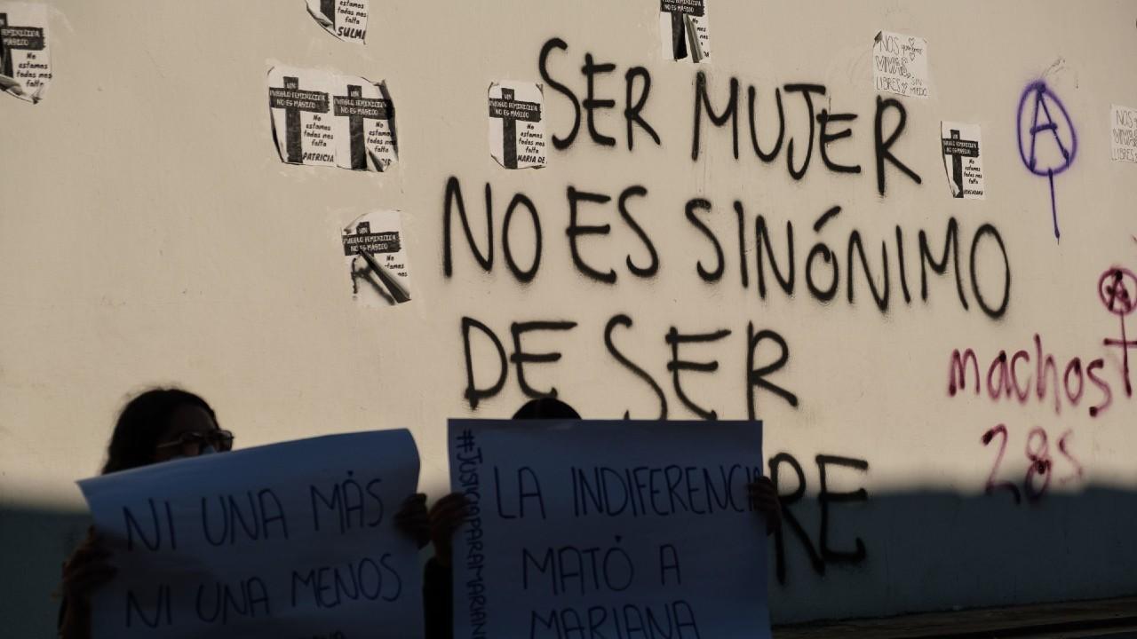 Violeta y Aurora mujeres asesinadas Oaxaca 8M