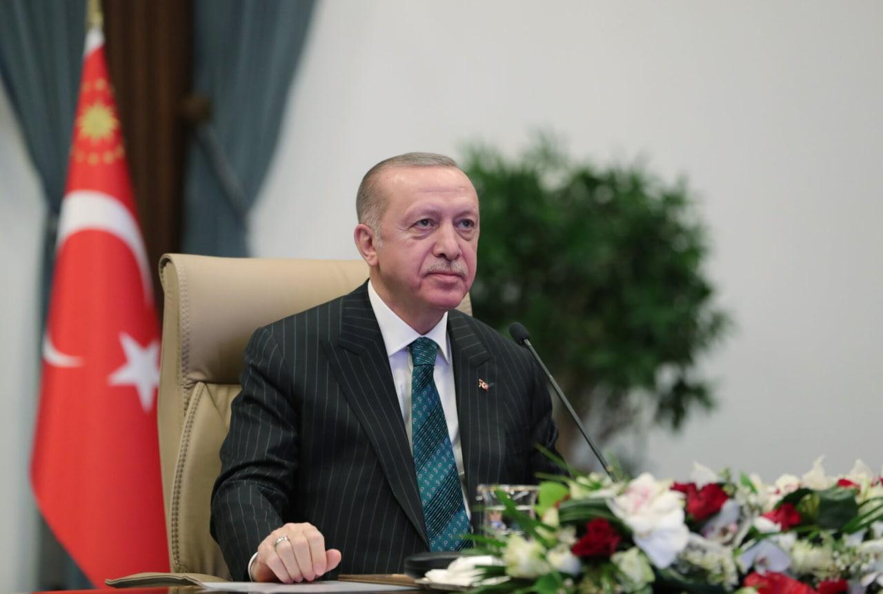 Erdogan presidente Turquía