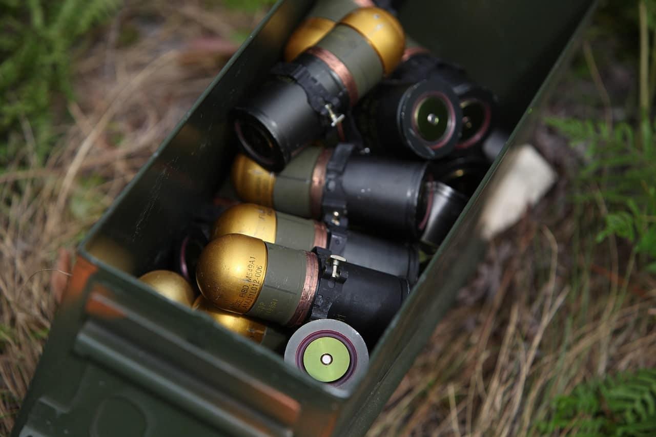 granadas 40 mm