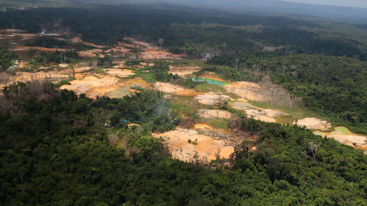 Actividad minera en brasil deforesta comunidades indigenas