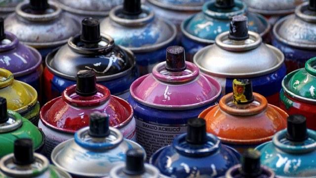 Detuvieron a Grafitero marroquí que pintó muros de Bellas Artes