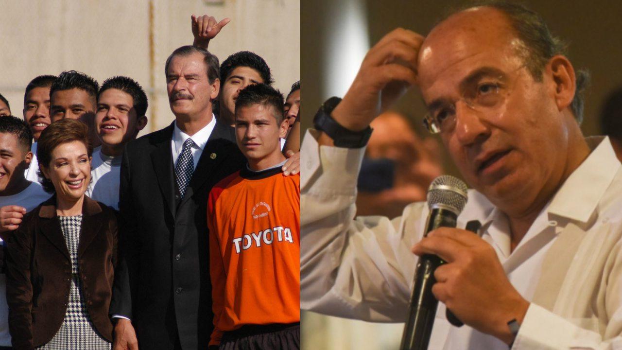 AMLO Fox Calderón insultados por el pueblo
