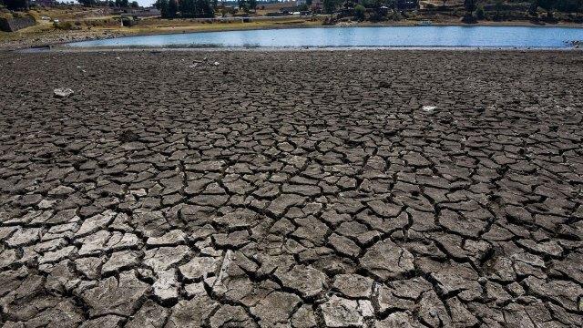 Sequia severa en México afecta Sistema Cutzamala