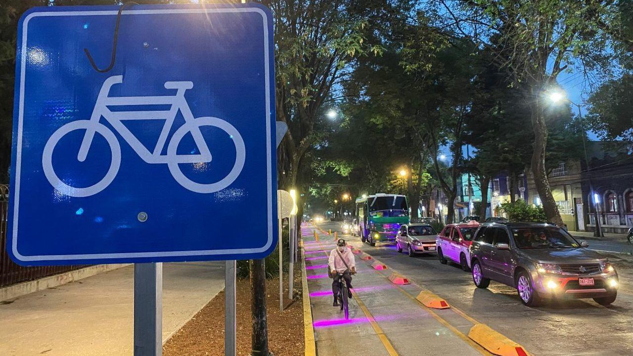Cruces peligrosos para ciclistas en Ciudad de México