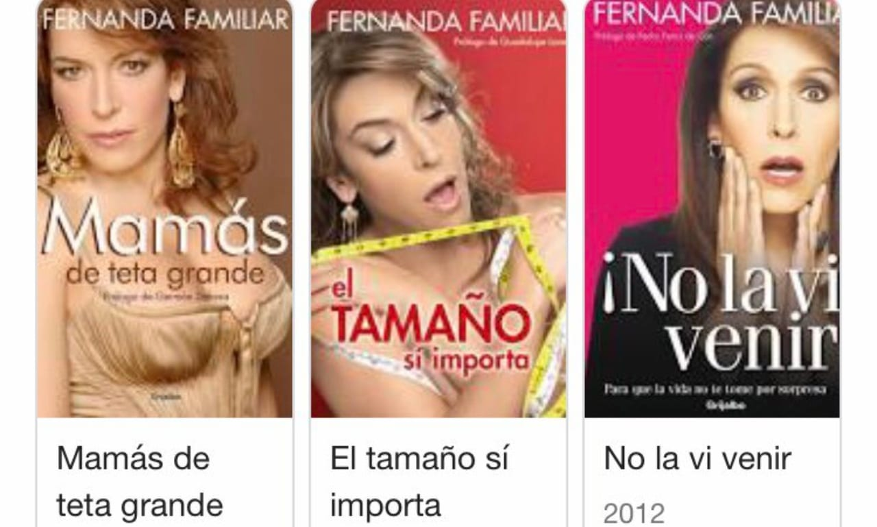 Fernanda Familiar libros comunistas
