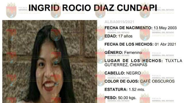 Rocío denunció abuso sexual de su padrastro y desapareció