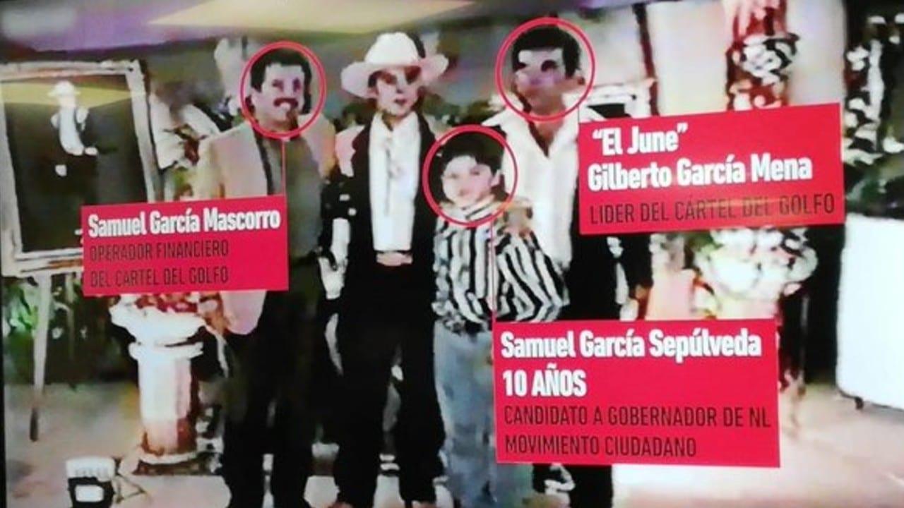 Revelan vínculos entre Samuel García y líder del Cártel del Golfo