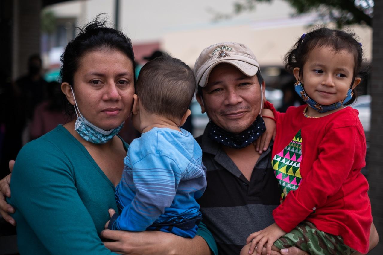 migrantes refugio mcallen texas