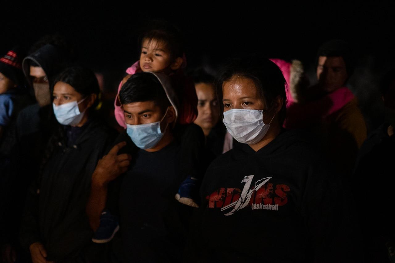 migrantes proceso rio bravo texas tamaulipas