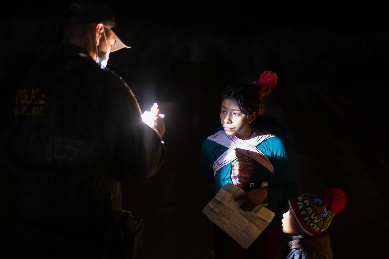 migrante detenida patrulla fronteriza