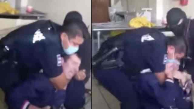 Abuso Policial Tijuana Asfixian Hombre