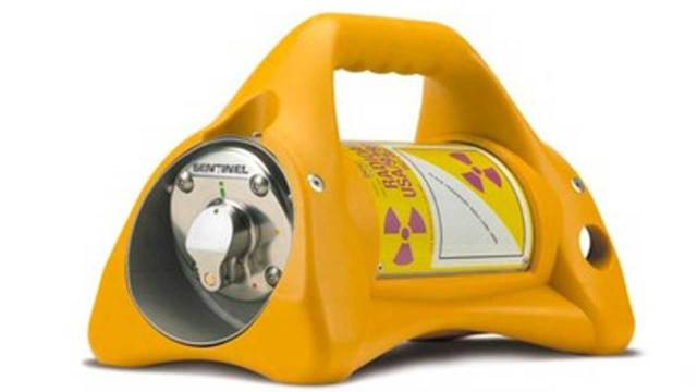 Robo fuente radiactiva iridio 192 Mexico