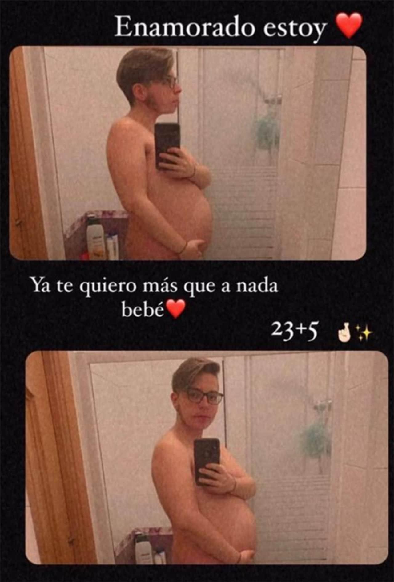 hombre trans embarazo España Instagram