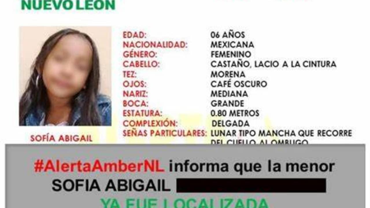 Detienen Hombre Secuestró Sofía Abigail Monterrey