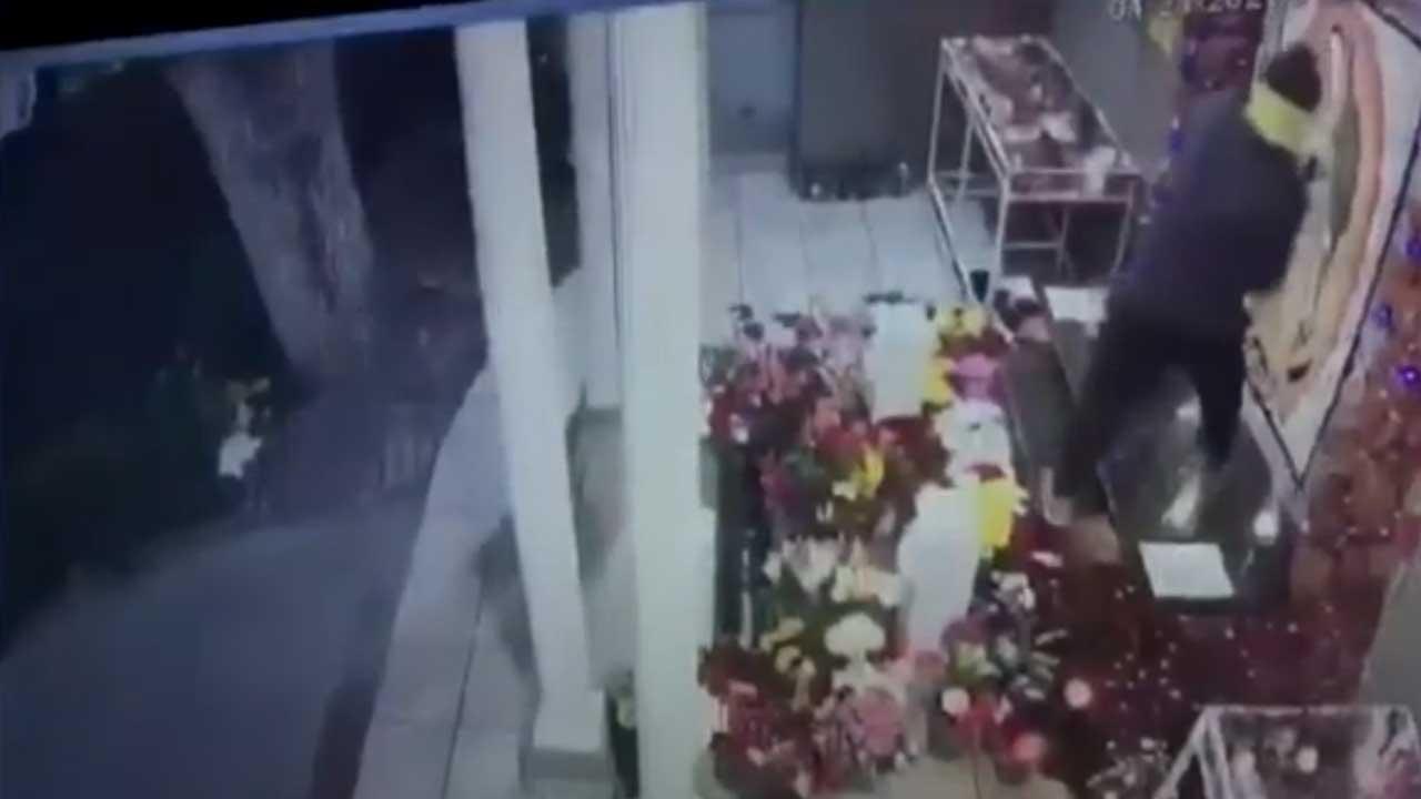 Video destroza imagen Virgen Guadalupe