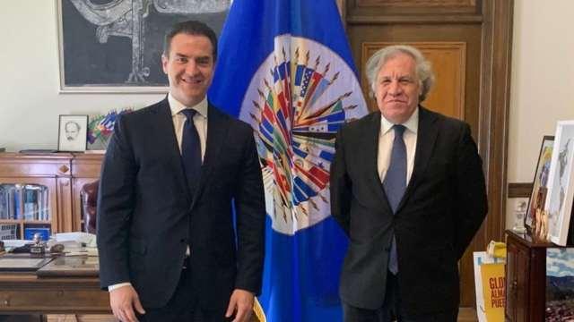 Adrián de la Garza AMLO OEA