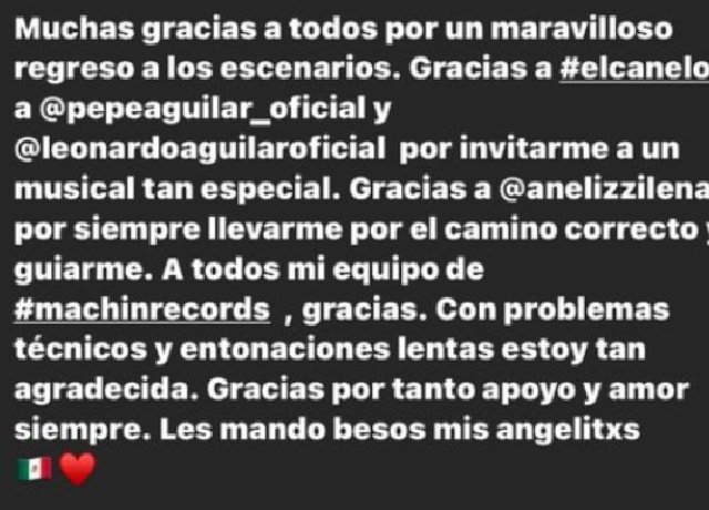 Pepe Aguilar reconoció que ángela Aguilar cantó mal el himno nacional