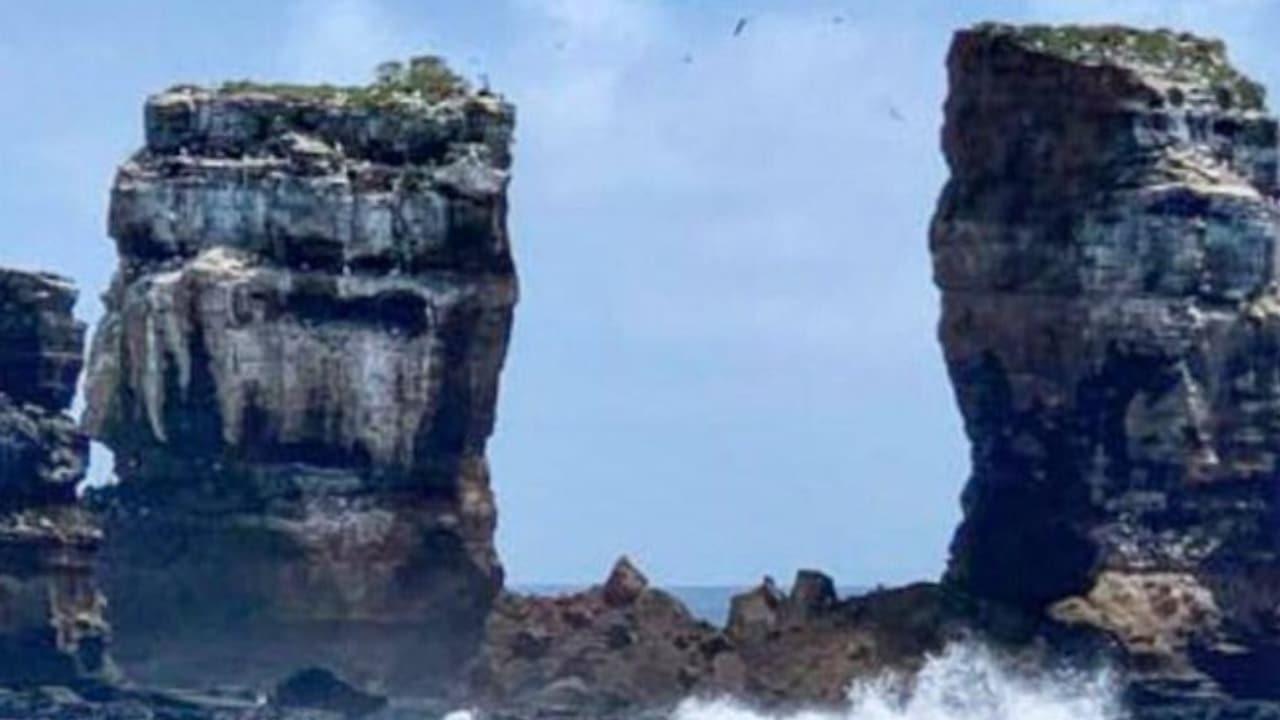 Arco Darwin Islas Galápagos se derrumbó