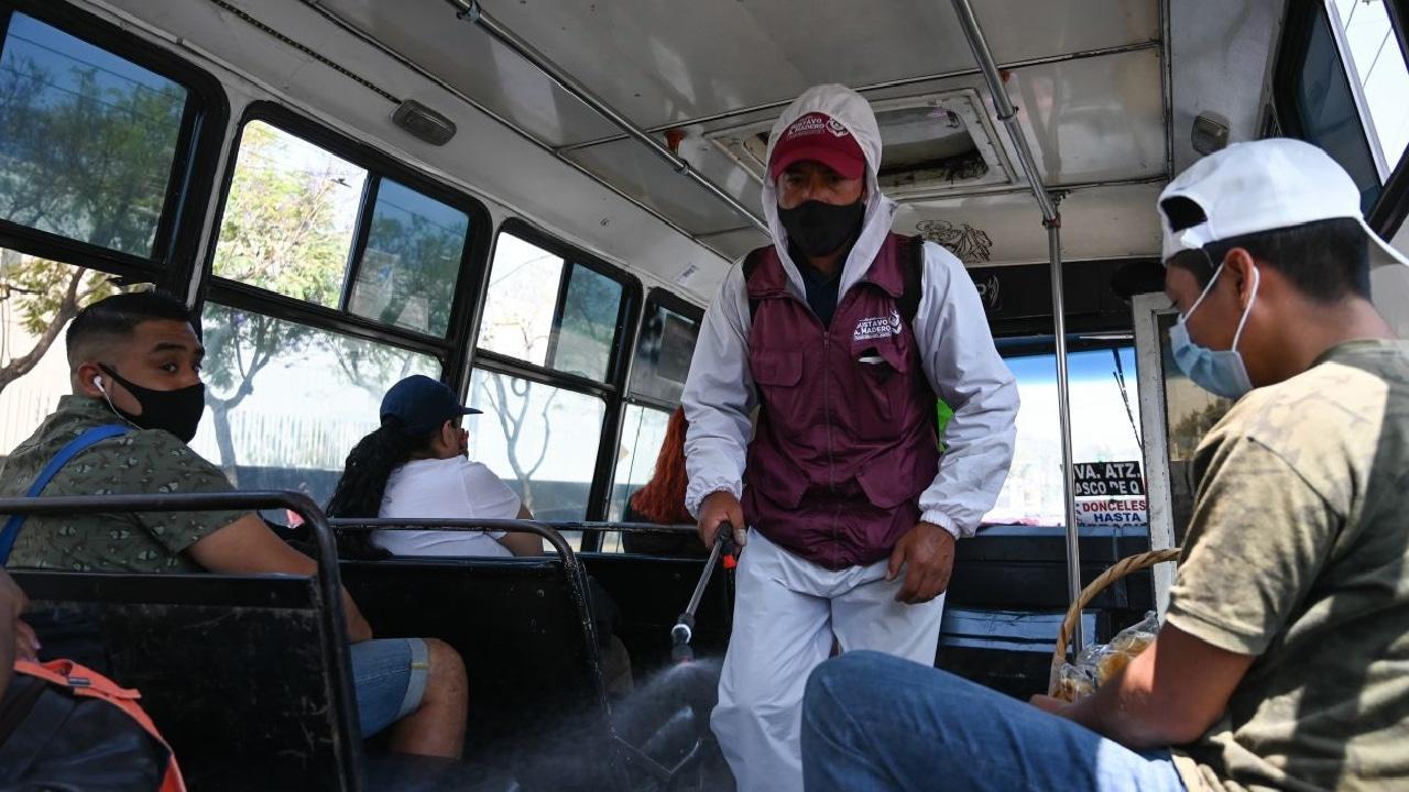 Aumento asaltos en microbuses CDMX