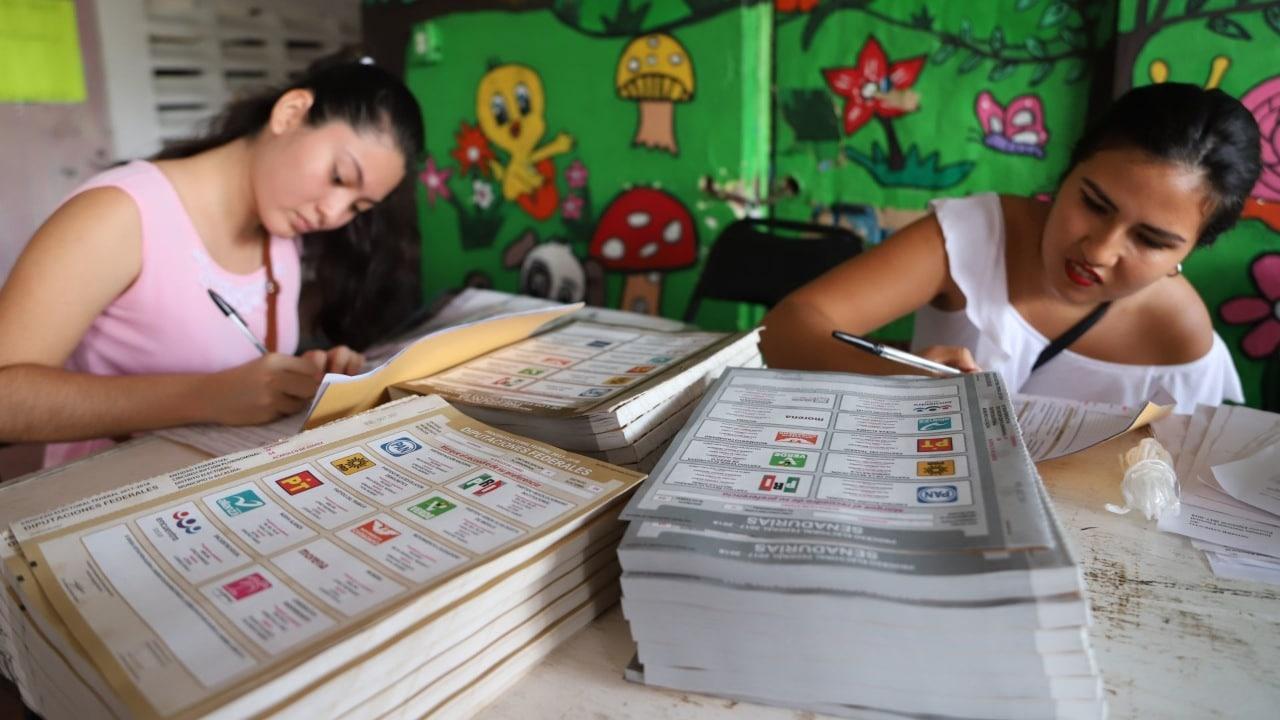 Etapas del proceso electoral en México