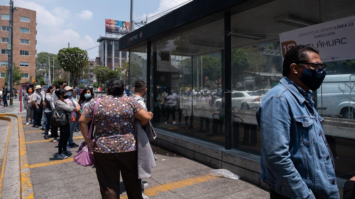 usuarios linea 12 rtp metro insurgentes