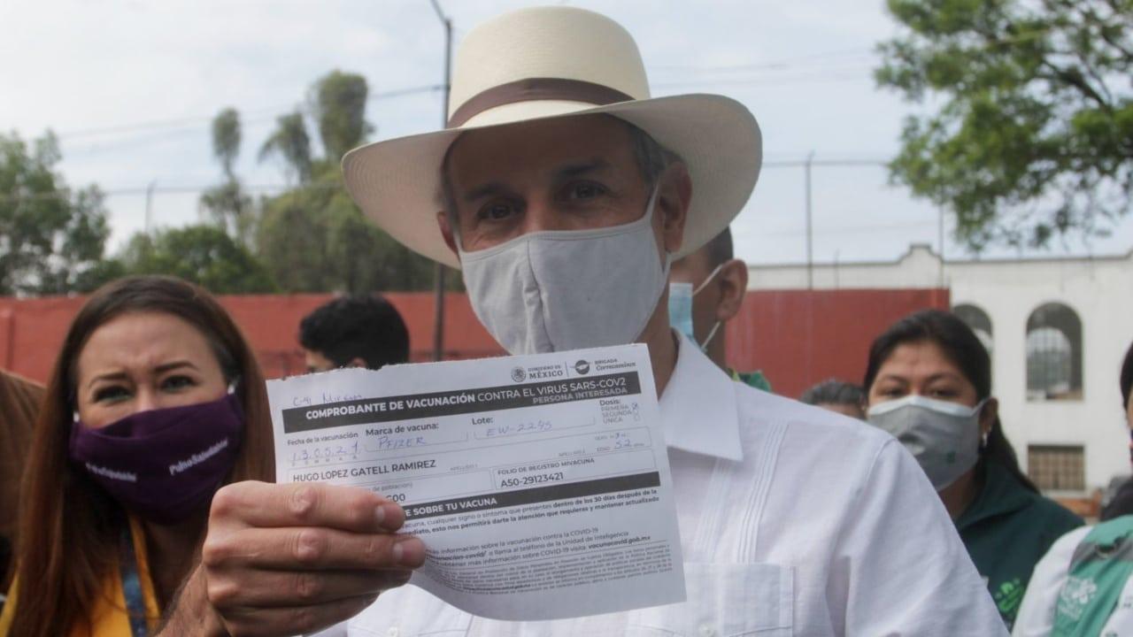 Hugo López-Gatell vacunación