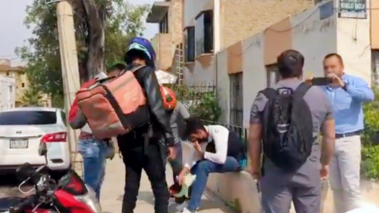 Repartidores capturan ladrón Guadalajara