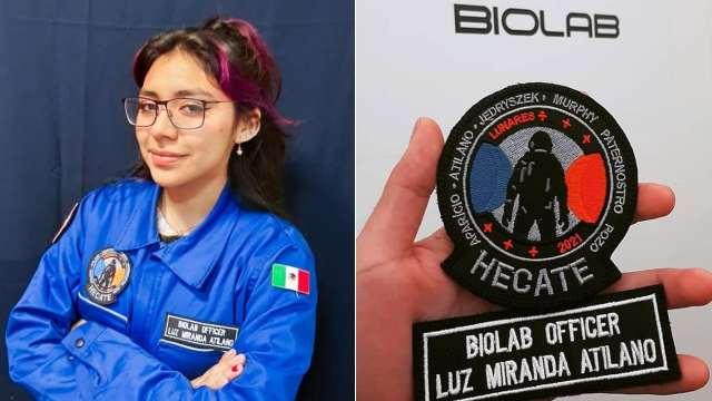 Luz Miranda Veracruz agencia espacial
