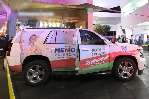 PRI ataque Morelia Michoacán