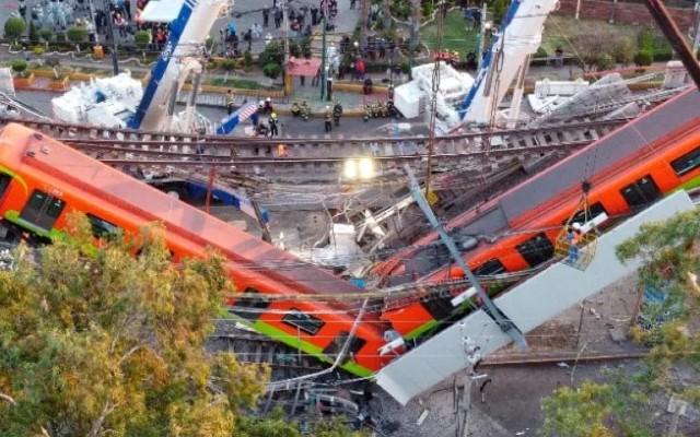 Reporte metro Línea 12 desplome