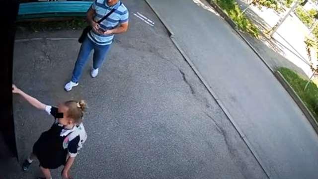 Video niña huyó de un pedófilo