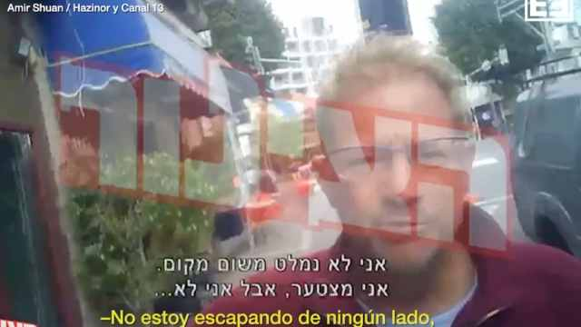 Andrés Roemer protagoniza altercado en Israel