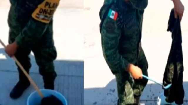 Sedena pide a soldados teñir uniformes