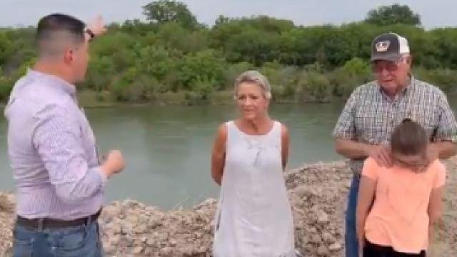 Video granjero encontró a cinco niñas migrantes en sus tierras