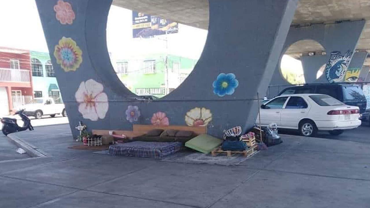 Foto Persona Indigente Aguascalientes