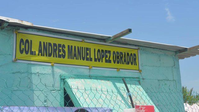 Colonia Andres Manuel Lopez Obrador Coatzacoalcos