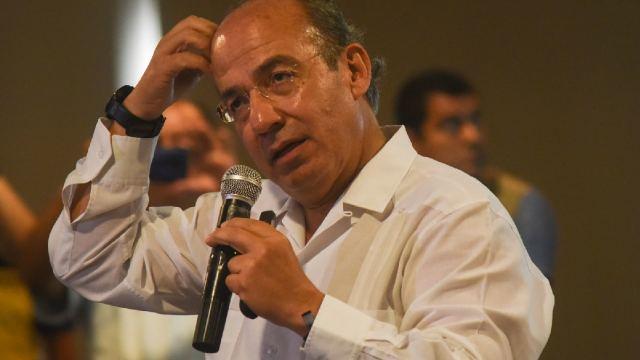 Felipe Calderón Hospitalizado Covid-19