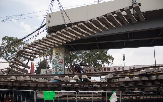 Sheinbaum constructoras reparación Línea 12 Metro
