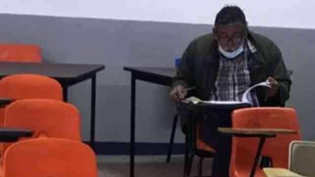 se viraliza foro de señor en examen de admisión UAGro