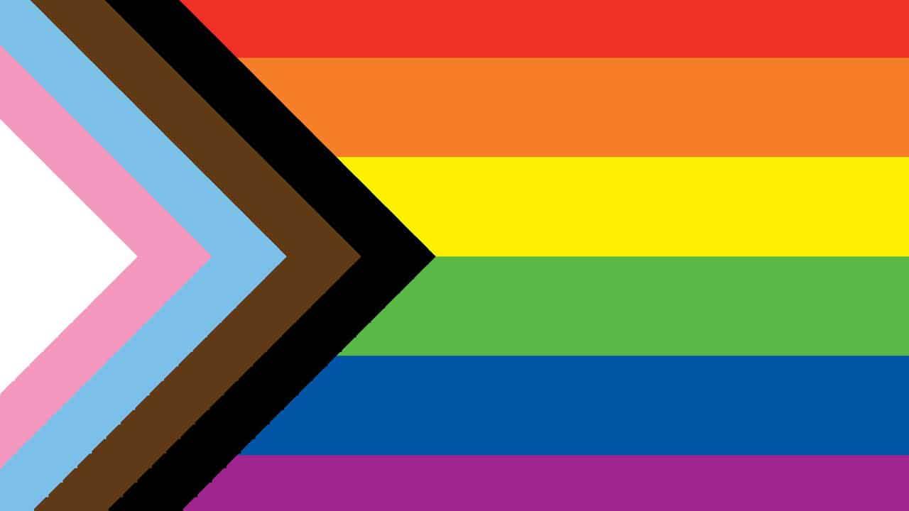 Nueva bandera LGBT colores inclusion