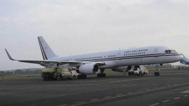 Venta avion presidencial Benito Juarez