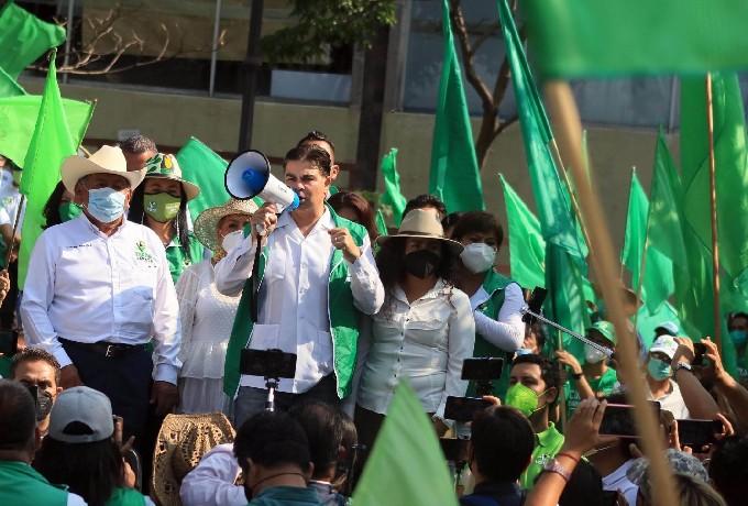 Agencia Aguita de Limon Propuso Influencer Partido Verde