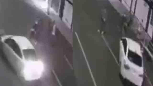 Video sujeto atropella novia y amiga CDMX