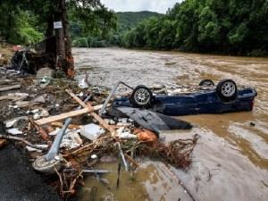 LLuvias récord dejan 58 muertos en Alemania