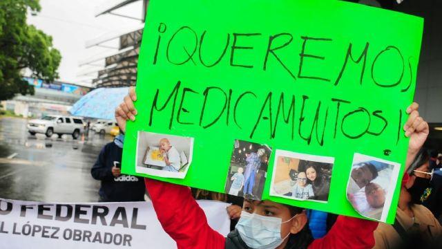 Convocan marcha nacional desabasto medicamentos cáncer