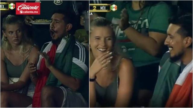 Historia de la pareja del partido México vs. Guatemala