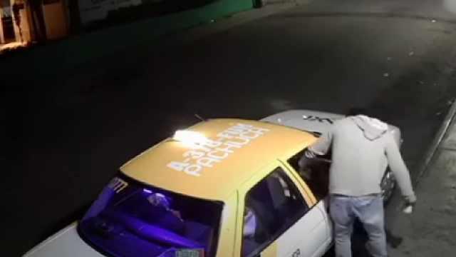 Taxista golpeó brutalmente a una mujer