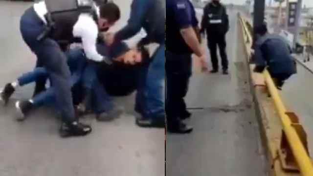 Policías detuvieron a un suicida con un cigarro
