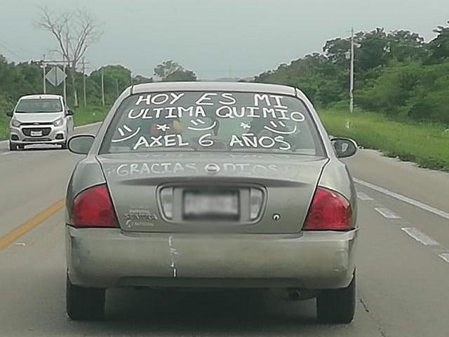 Niño Festeja Última Quimioterapia Yucatán